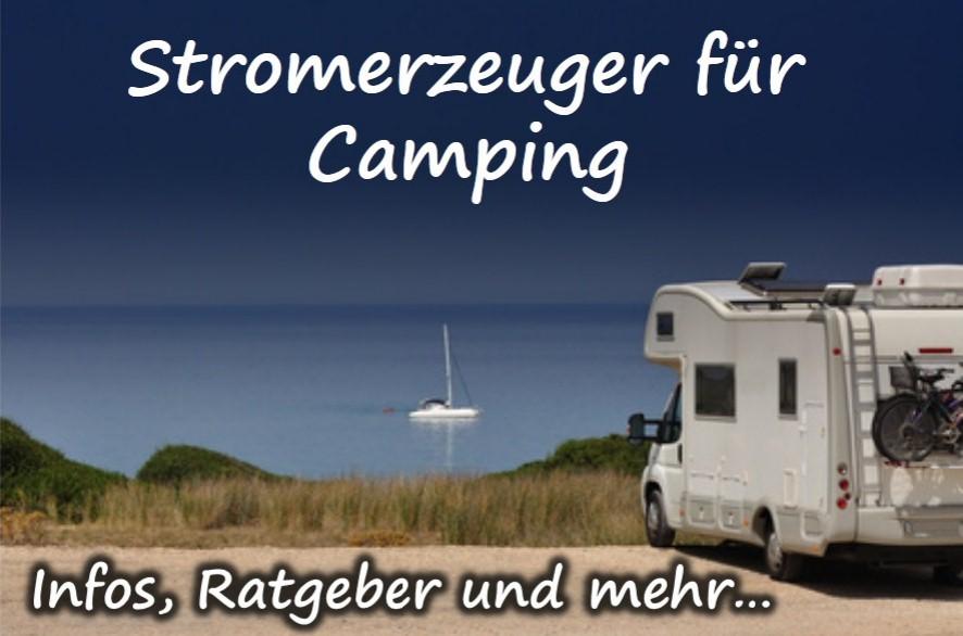 Stromerzeuger für Camping
